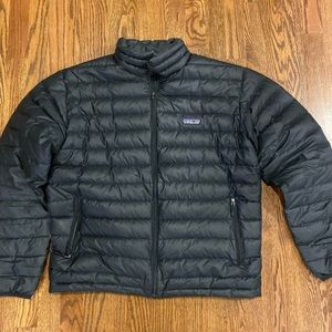 A well-loved but good condition Patagonia puffer